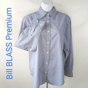 Bill BLASS Premium Long Sleeve Button Wrinkle Free